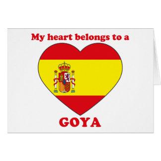 Goya Card