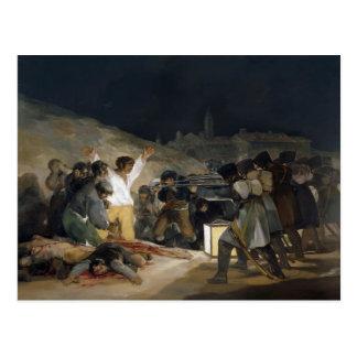 Goya-Ejecución de Francisco de defensores de Madri Postales