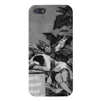 Goya el sueño de la razón produce a monstruos iPhone 5 carcasas
