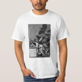 Goya el sueño de la razón produce a monstruos poleras