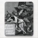 Goya el sueño de la razón produce a monstruos alfombrilla de ratón