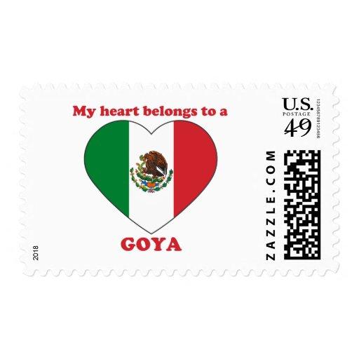 Goya Postage