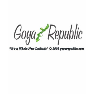 Goya Republic Chest with picture back logo shirt