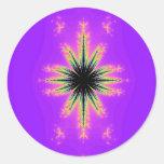 Goya. Round Sticker