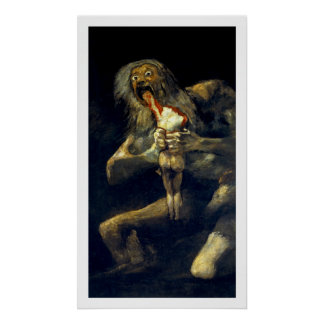 Goya: Saturn Devouring His Son Poster