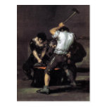 Goya, The Forge c. 1819 Oil on canvas, 191 x 121 c Postcards
