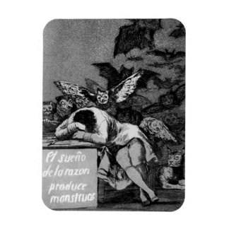 Goya The Sleep of Reason Produces Monsters Magnet