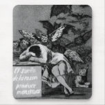 Goya The Sleep of Reason Produces Monsters Mouse Pad