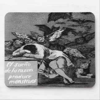 Goya The Sleep of Reason Produces Monsters Mouse Pads