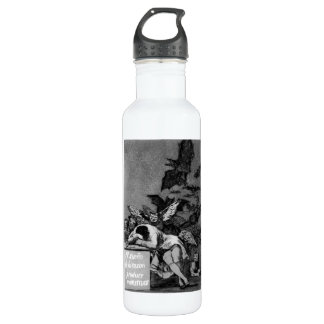 Goya The Sleep of Reason Produces Monsters 24oz Water Bottle