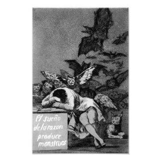 Goya The Sleep of Reason Produces Monsters print Photo Print