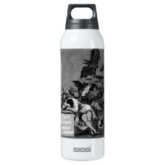 Goya The Sleep of Reason Produces Monsters 16 Oz Insulated SIGG Thermos Water Bottle