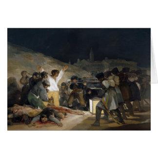 Goya Third of May Note Card