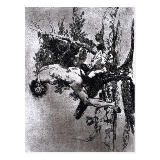 Goya, This is worse 1812-15 Etching and wash, 157  Postcard