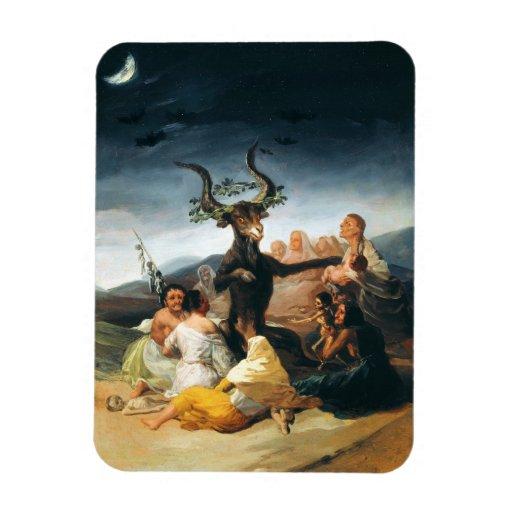 Goya Witches Sabbath Magnet