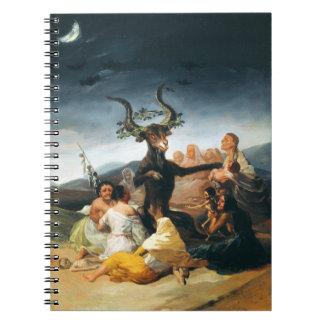 Goya Witches Sabbath Notebook
