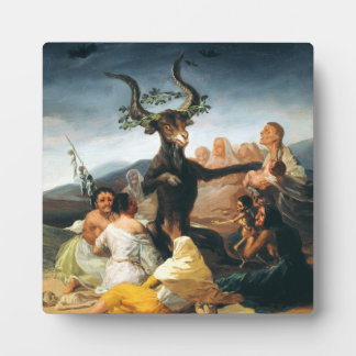 Goya Witches Sabbath Plaque