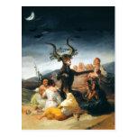 Goya Witches Sabbath Postcard