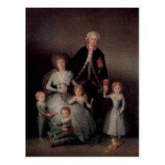 Goya y Lucientes, Francisco de Portr?t der Familie Postcard