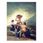 Goya y Lucientes, Francisco de Weinlese The Vintag Postales