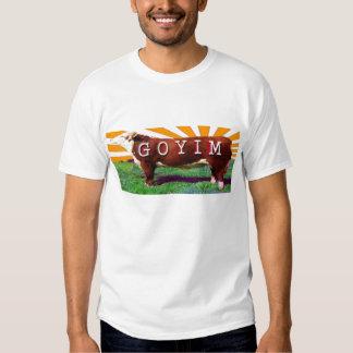 Goyim o camiseta de la camiseta del Goy Polera
