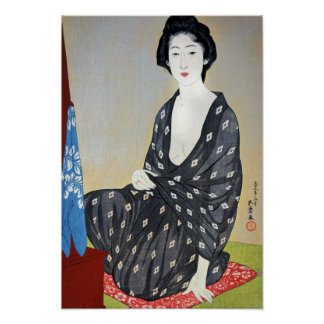Goyo Woman in Summer Garment Poster