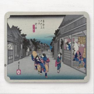 Goyu - Ando Hiroshige Tapete De Ratones