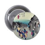 Goyu por Ando, Hiroshige Ukiyoe Pins