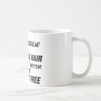 Gozo el diseñar del pelo taza de café