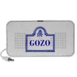 Gozo, placa de calle de Granada Notebook Altavoces