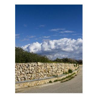 Gozo Wall Post Card