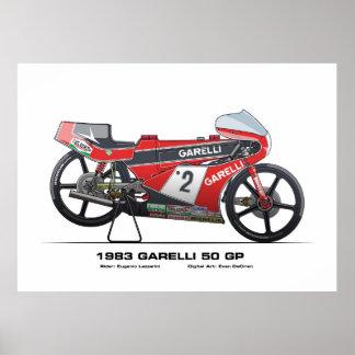 GP de Garelli 50 - Eugenio 1983 Lazzarini Poster