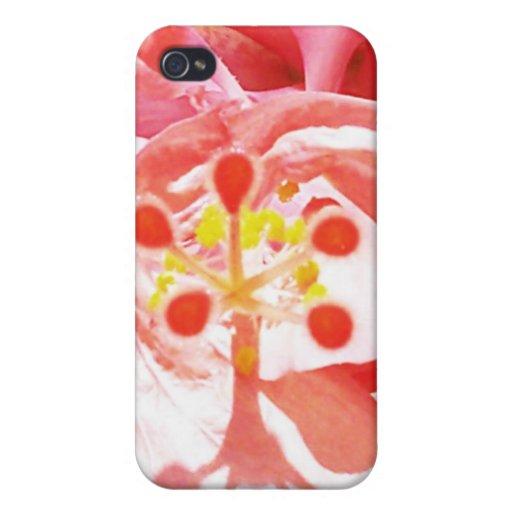 GP rosado del paraíso iPhone 4 Funda