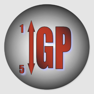 GP Shift Warning Sticker - Red