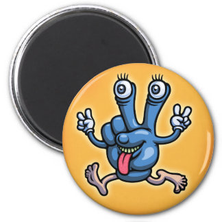 Gpeace & Glove 2 Inch Round Magnet