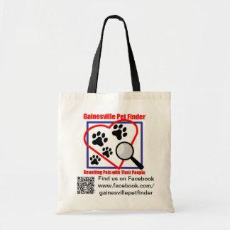 GPF Logo, Link, and QR Tote Bag