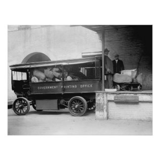 GPO Truck, 1912 Posters