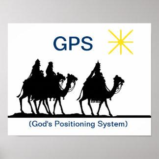 GPS Christian Christmas Poster