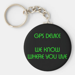 Funny Gps Keychains & Lanyards | Zazzle