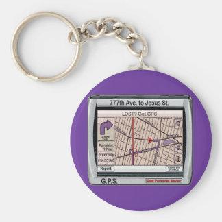 GPS God Personal Savior Keychain
