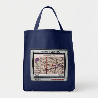 GPS God Personal Savior Tote Bag