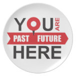 GPS of your life - locate the moment Plate