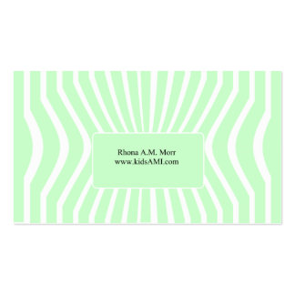 GPS Pinched Business Card