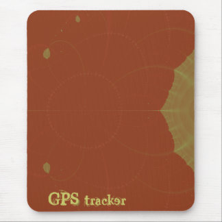 GPS tracker Mouse Pad