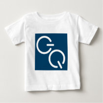 GQ-Square-Podcast Tardis Blue Baby T-Shirt