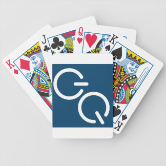 GQ-Square-Podcast Tardis Blue Bicycle Playing Cards