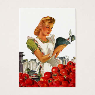 GR8 Retro Style Kitchen Home Canning Gift Tag Card