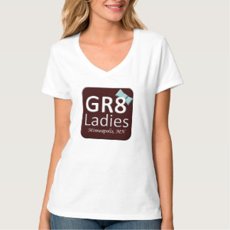 Gr8Ladies MSP T-Shirt V-neck