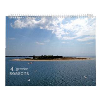 GR - 4 seasons (15 months) Calendar