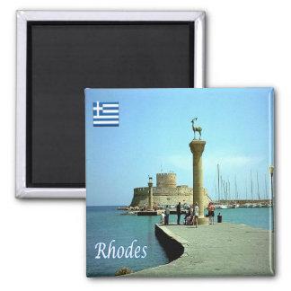 GR - Greece - Rhodes Magnet